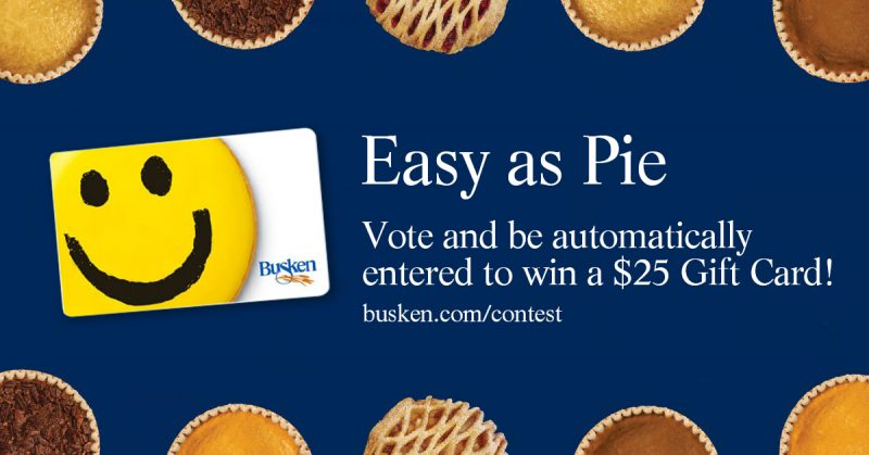 Busken Bakery voting contest